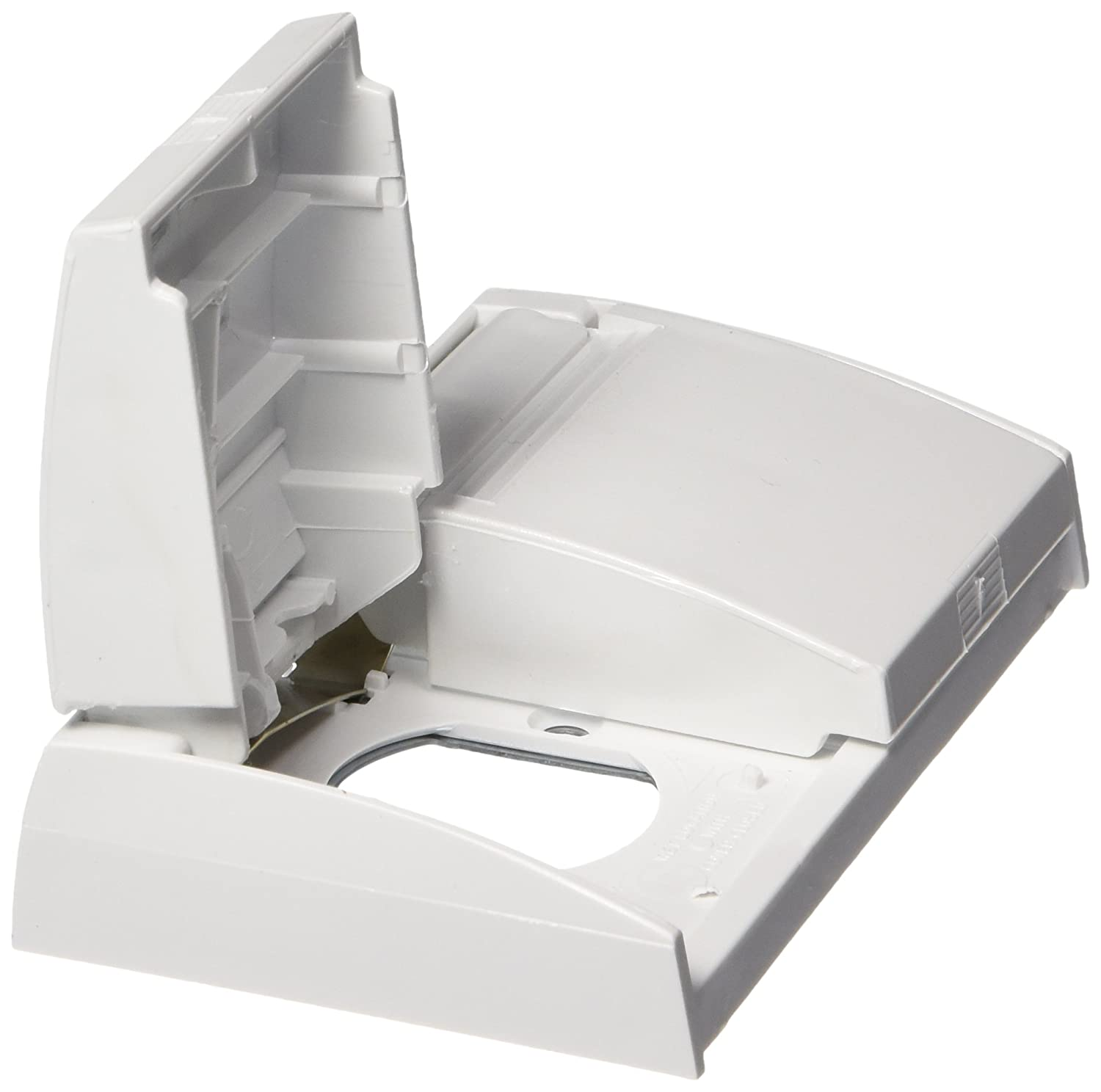 RV Designer Collection 97749C-7 E365 Snap Cover-Plate Only White