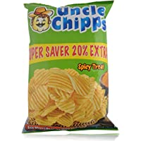 Uncle Chips Potato Chips, 50g + 10g Pouch