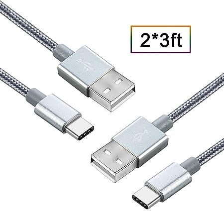 Type c Cable, Bambud Type c USB, Type c Cable 1m, kabel Nylon, Type c Adapter, Type c Ladekabel, kabel, Cavo USB Android, Kom