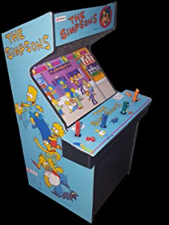 The Simpsons 4 Player Mini Arcade Cabinet Collectible Display  sc 1 st  Amazon.com : mame arcade cabinet 4 player - Cheerinfomania.Com