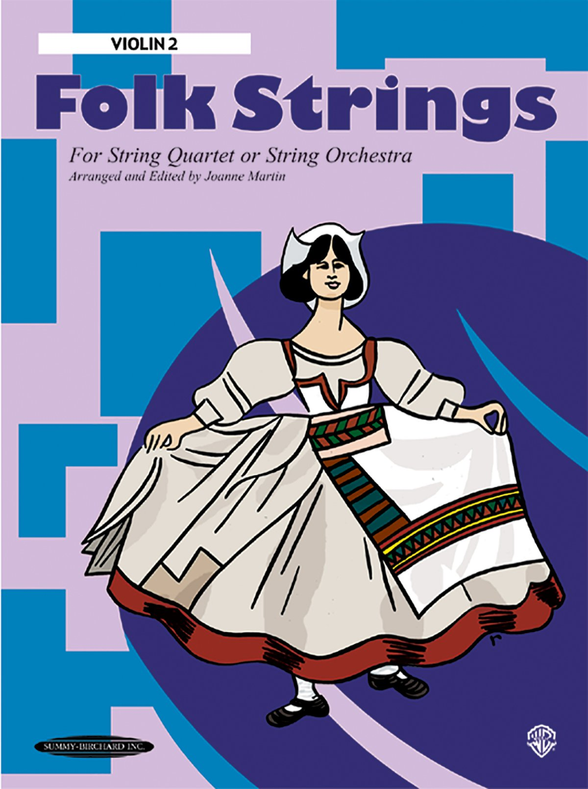 Folk Strings for String Quartet or String Orchestra: 2nd Violin, Part pdf epub