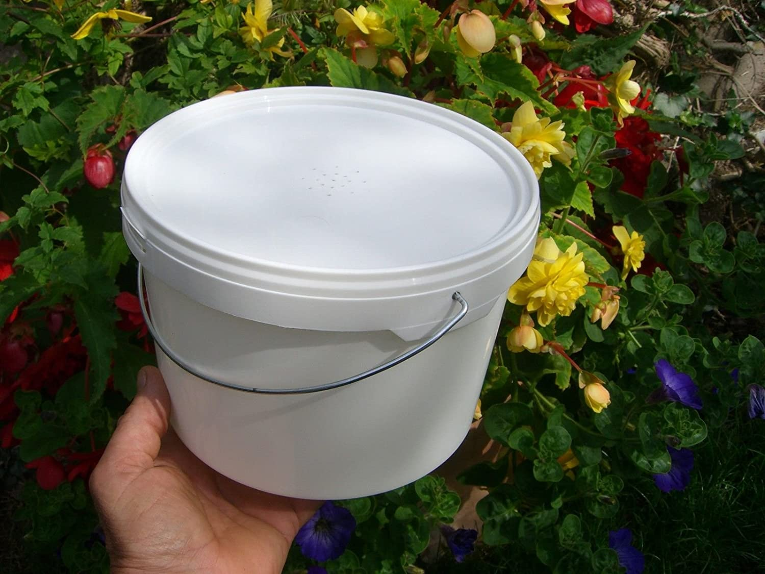 4 x Beekeepers 1/2 Gallon CONTACT FEEDERS Simonthebeekeeper