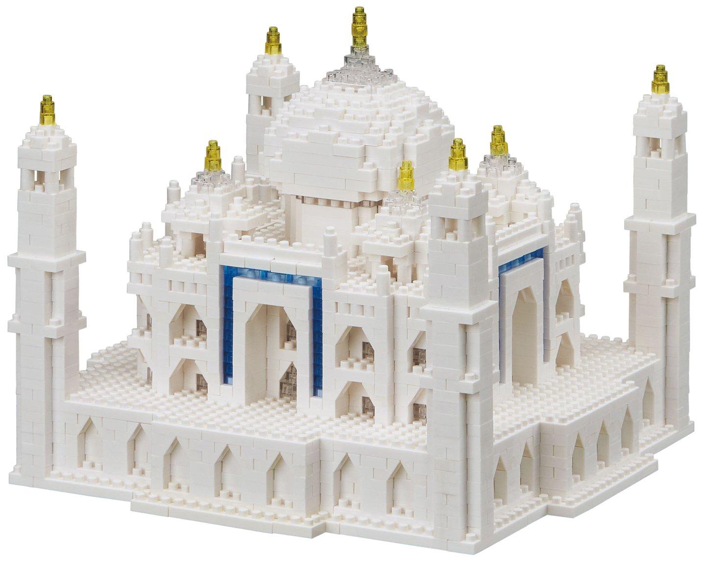Unbekannt Nanoblock-nanoblock-NB-032-Advanced Hobby Series Taj Mahal Deluxe Edition Spielzeug, NB-032, Mehrfarbig B071ZL18H9 Brainteaser Glücklicher Startpunkt | Qualität