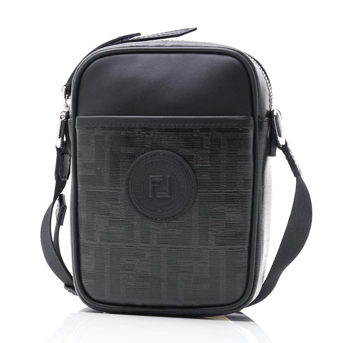 (フェンディ) FENDI メッセンジャーバッグ [並行輸入品] Free ブラック B07P6GZ919