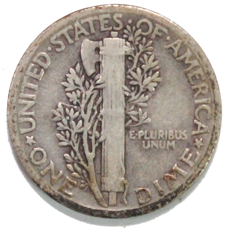 1931 P Mercury Dimes Dime Circulated