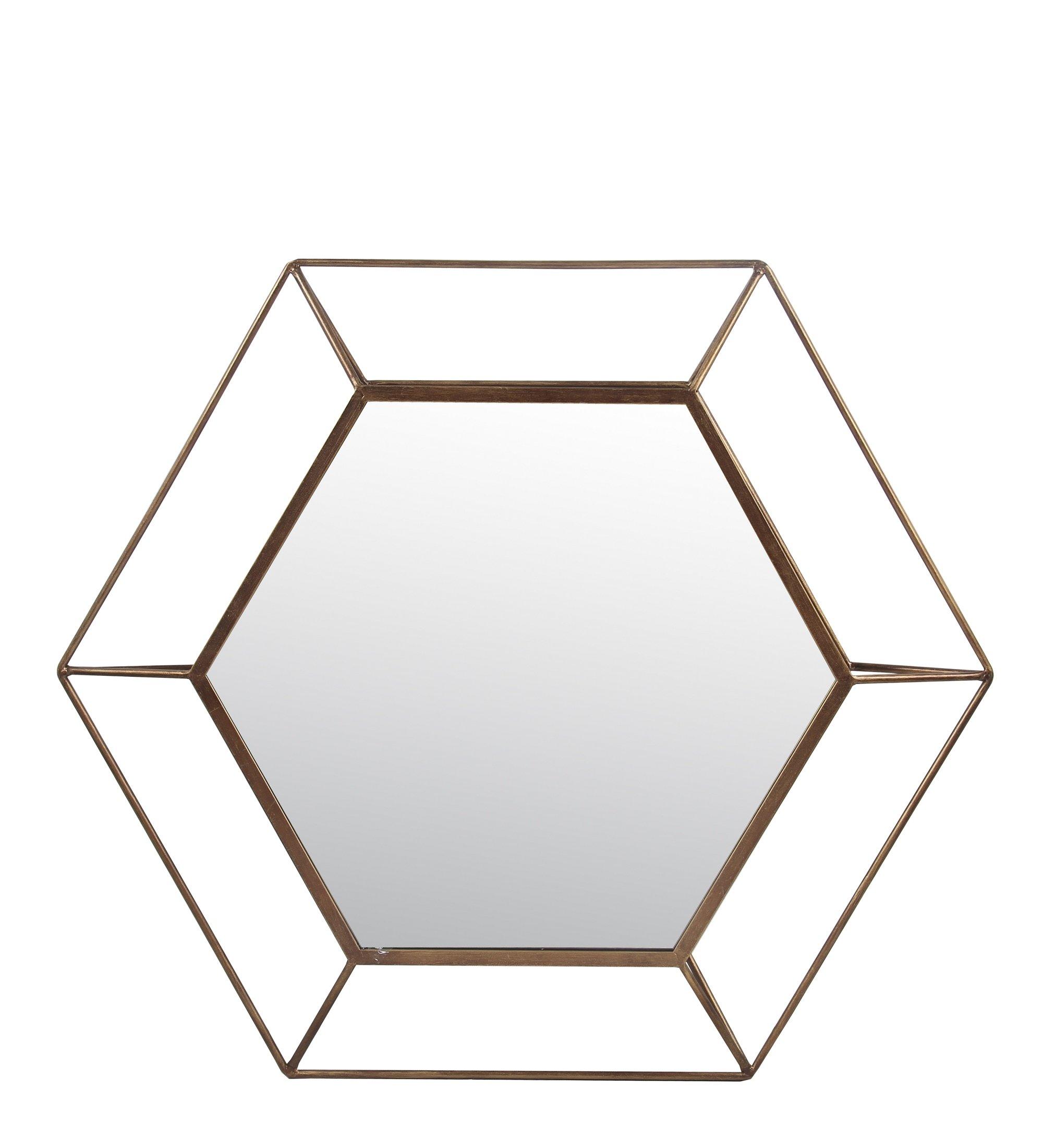 Privilege 16070 Iron Wall Large Mirror