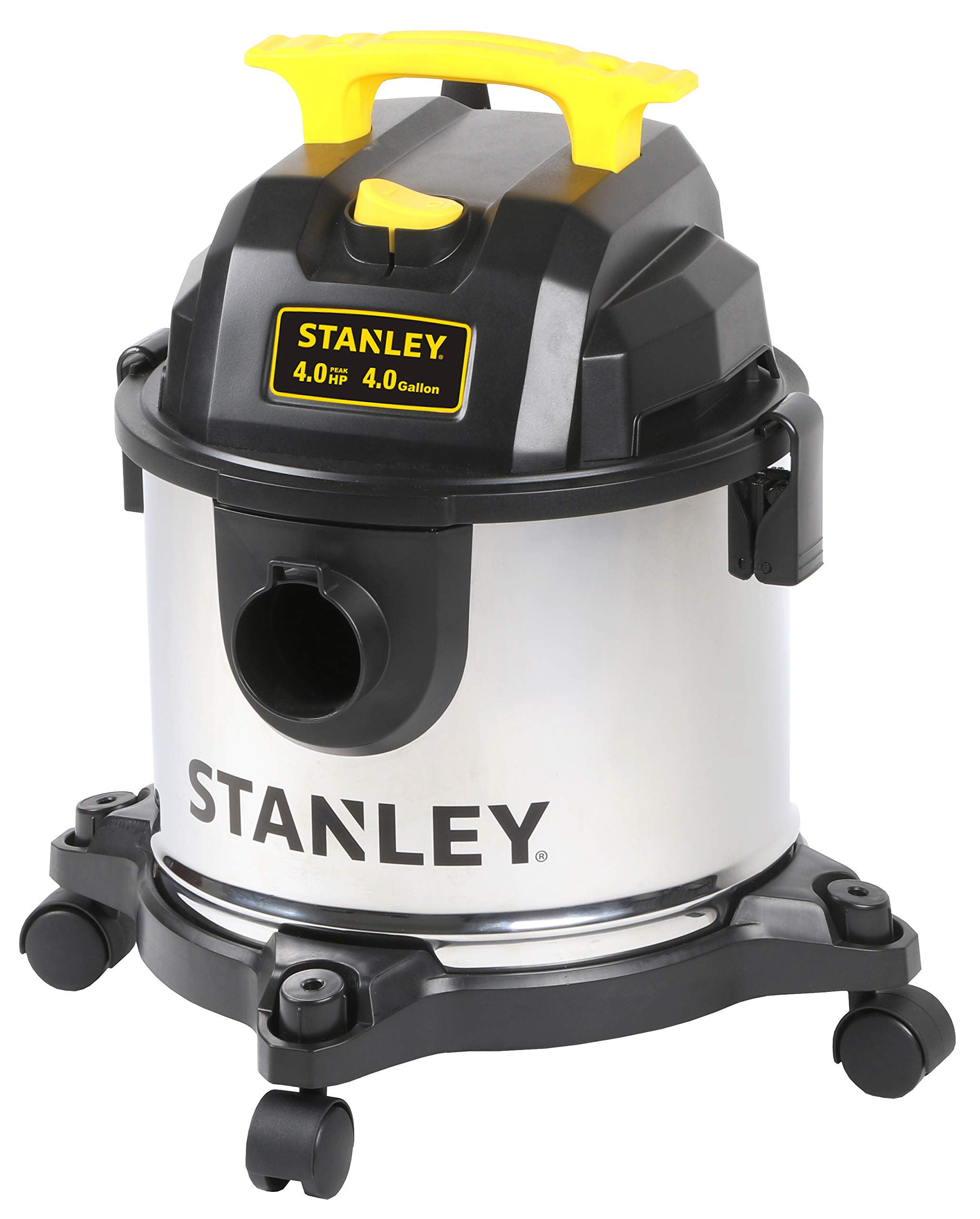 Stanley SL18301-4B 4 Gal Stainless Steel Wet or Dry Vac