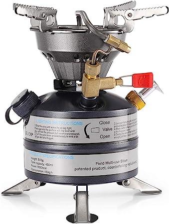 DECHO-C Estufas de gasolina portátil mini líquido de camping BRS-12A quemadores de queroseno diesel queroseno estufa de aceite