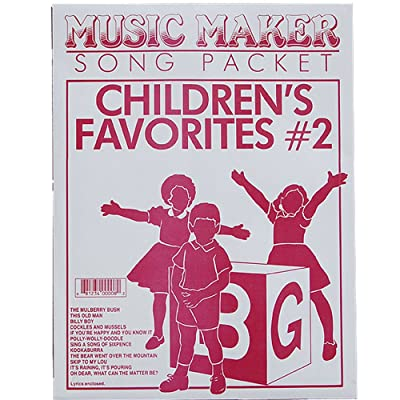 European Expressions Music Maker Song Packet Children's Favorites #2: Toys & Games