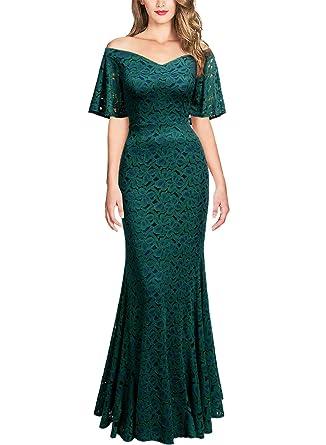 Dark Green Maxi Dress