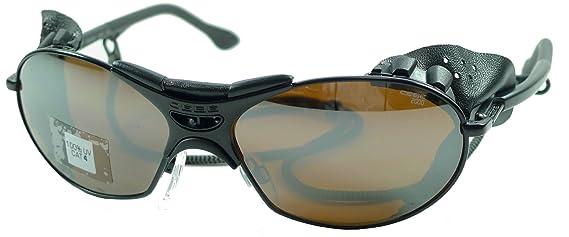 Cébé Gafas de sol - Negro, Cuero Negro Protección Lateral ...