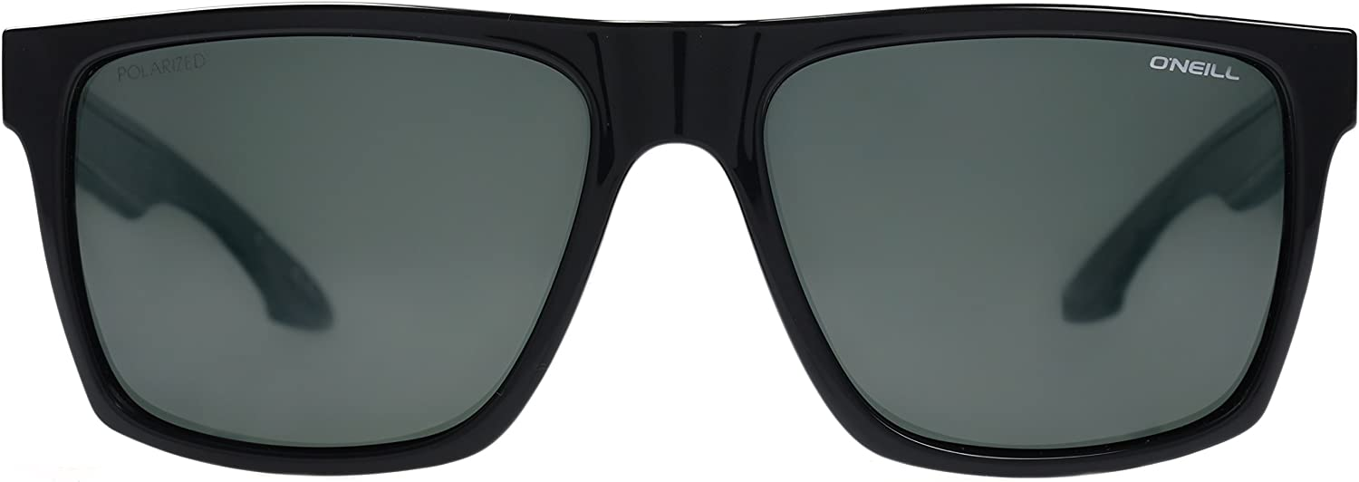 ONeill Mens Harlyn Polarized Sunglasses Square, Gloss Black, 56 ...