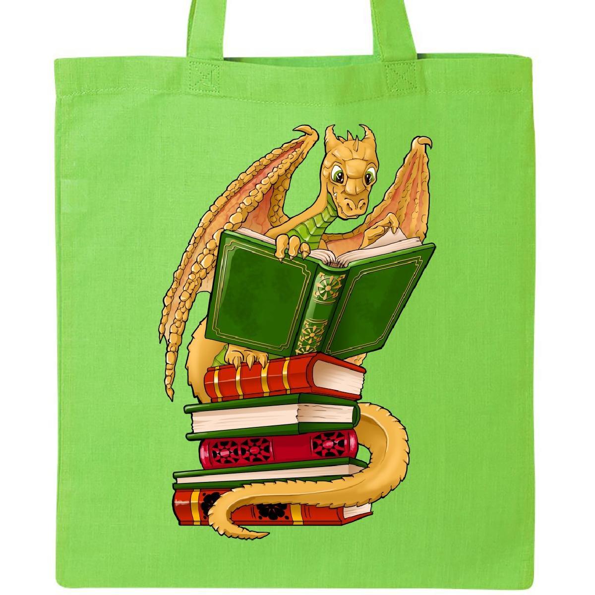 非売品 Inktastic Booksトートバッグ well-readキュートゴールドドラゴンReading Booksトートバッグ One Size Size ブラック B06Y5TJM4S ライムグリーン ライムグリーン ライムグリーン, A-スロット:3a7fb240 --- 4x4.lt