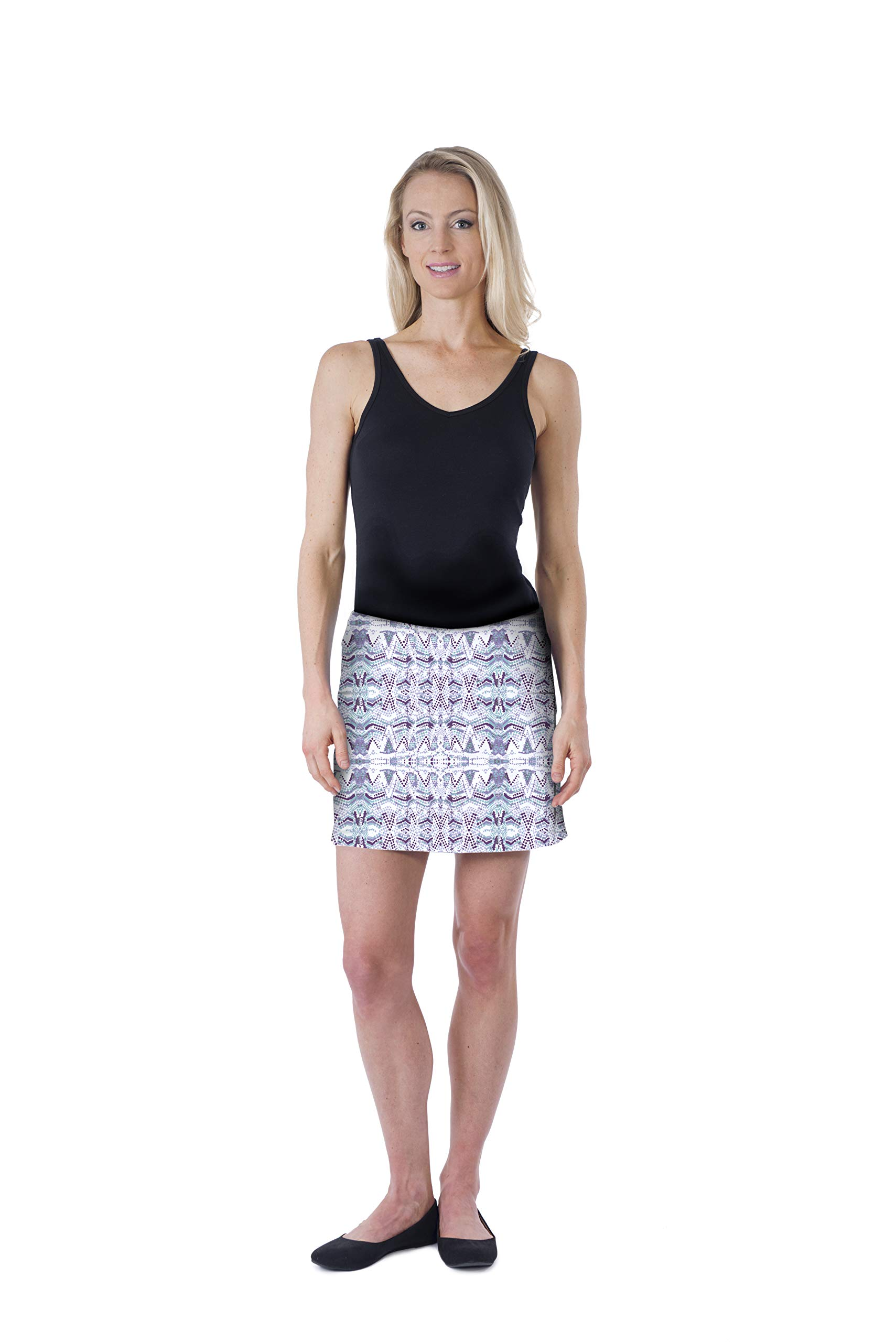 Colorado Clothing Women's Everyday Skort (Reverb, Small) by Colorado Clothing