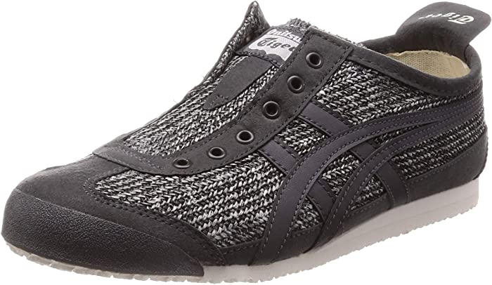 (オニツカタイガー) Onitsuka Tiger 靴・シューズ Onitsuka Tiger by Asics Mexico 66 Slip-On Black/White US 8 (25cm) B