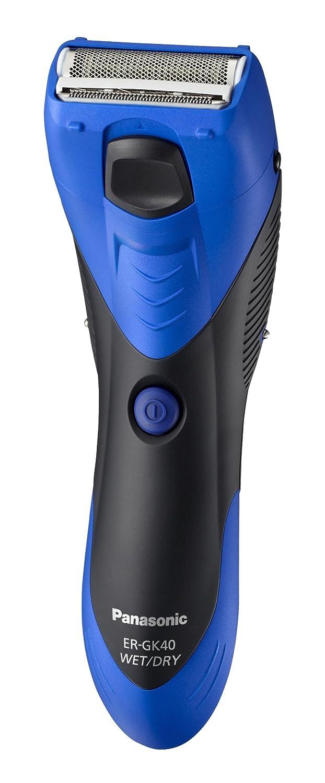 Panasonic ER-GK40-A503 - Rasuradora lavable, afeitado con espuma, cuidado de las axilas incorporado, azul