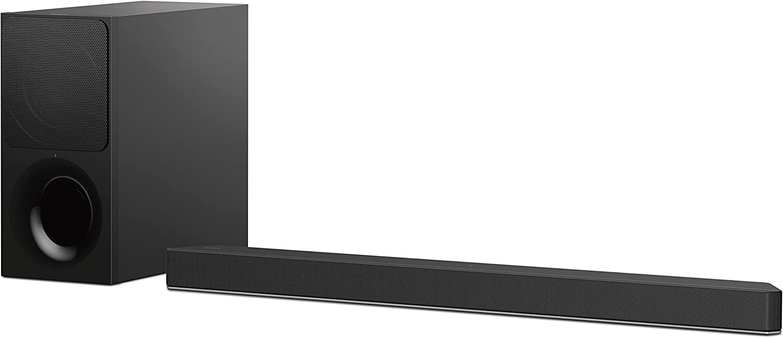 Sony HT-XF9000 - Barra de Sonido 2.1 (Dolby Atmos, DTS:X, Bluetooth, HDCP 2.2, HDMI), Color Negro