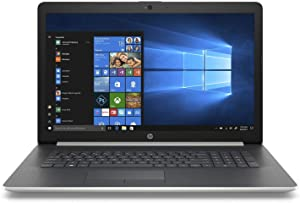 "HP 17"" HD+ SVA WLED-Backlit Notebook Laptop, Intel Core i5-8250U Up to 3.4GHz, 24GB Memory: 16GB Intel Optane + 8GB DDR4, 2TB HDD, Webcam, Bluetooth, Windows 10 Home, Silver"