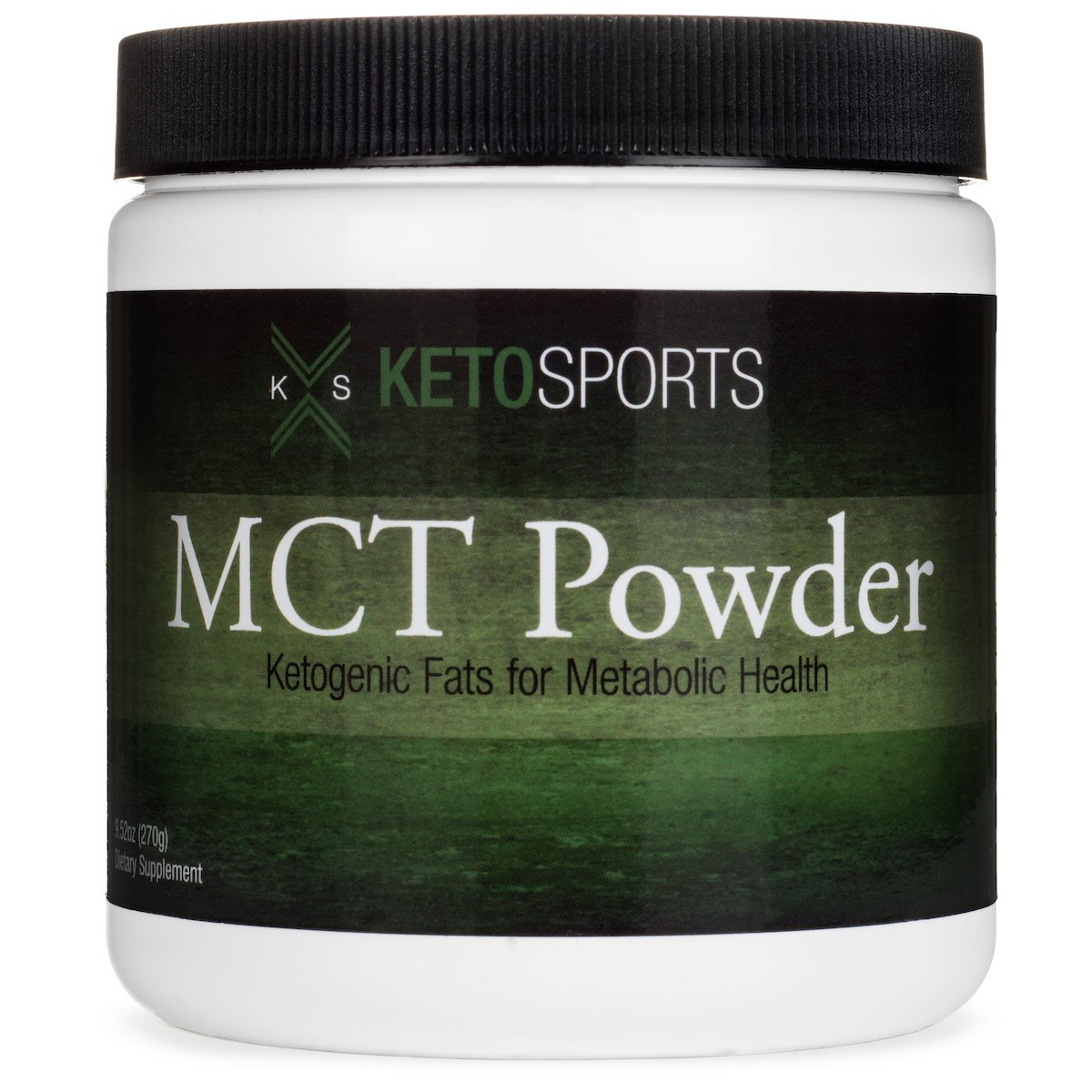 KETOSPORTS MCT POWDER, Keto Diet Pre-workot Supplement - Ketogenic Fats For Metabolic Health & Instant Energy Boost 270g by KetoSports
