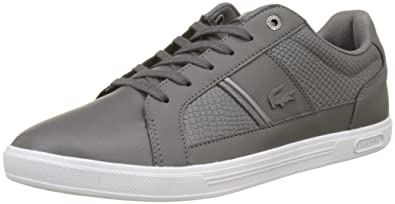 4a564168b551bf Lacoste Men s Europa 417 1 SPM Low-Top Sneakers  Amazon.co.uk  Shoes ...