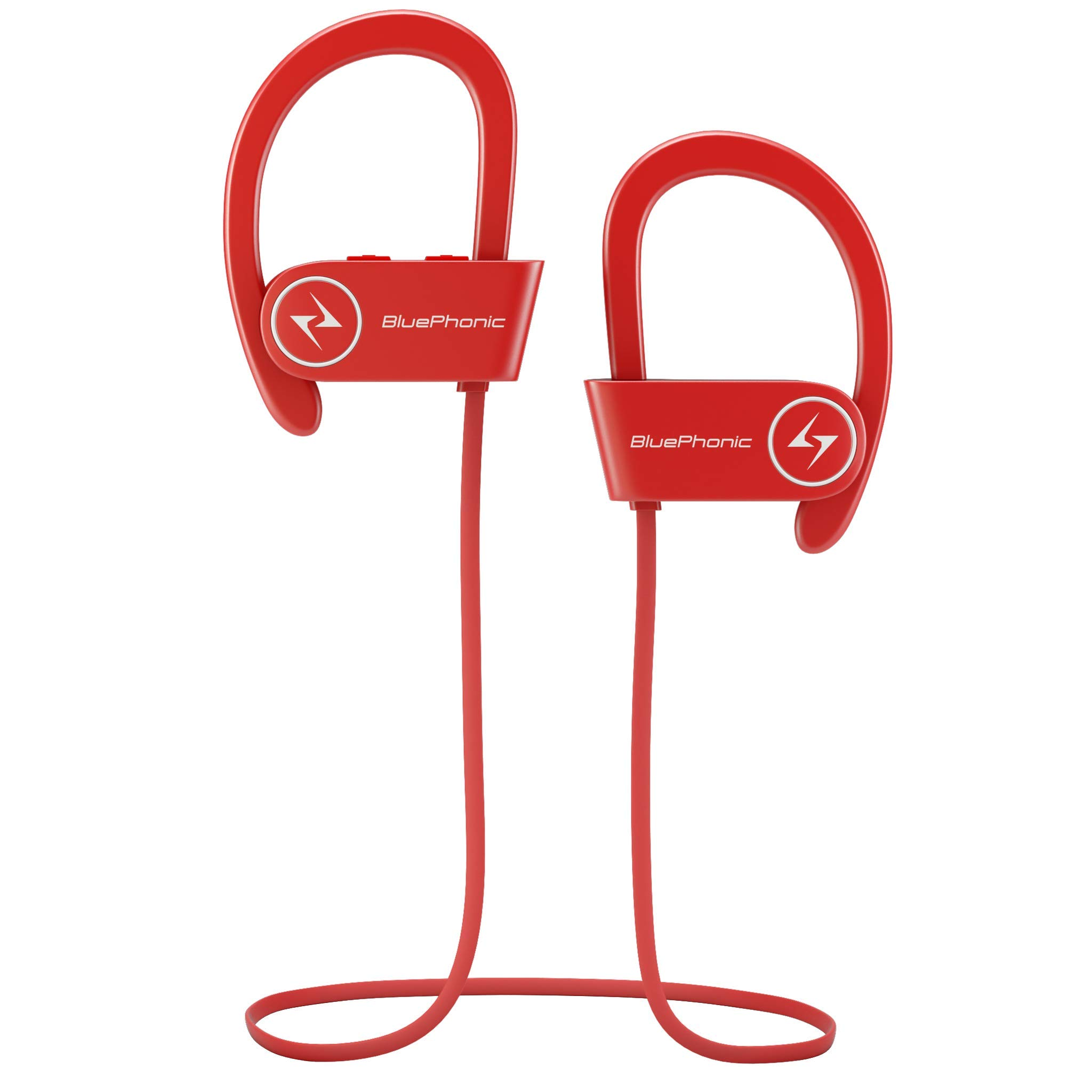 b8a1c39c5c3 ... Sound Quality - Sweat Proof Stable Fit in Ear Workout Earbuds -  Ergonomic Running Earphones - Noise Cancelling Microphone w/Travel Case -  by Bluephonic