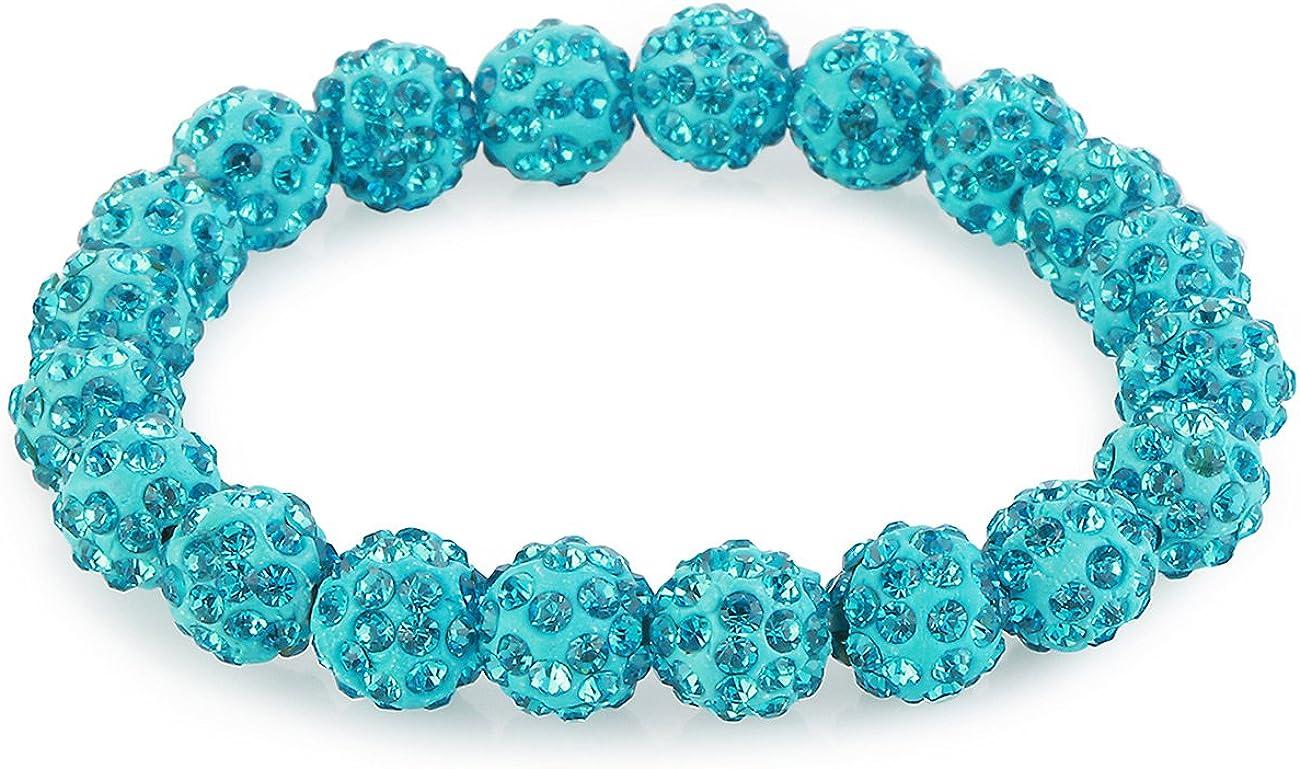 Morella Pulsera elástica con Perlas y Piedras de circonita para Damas