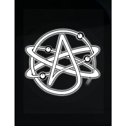 Amazon Esparosa Atheist Atom Symbol Atheism Sticker Home