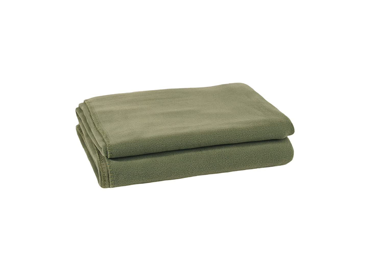 Zoeppritz Soft-Fleece Decke Huntergreen, 160x200 cm