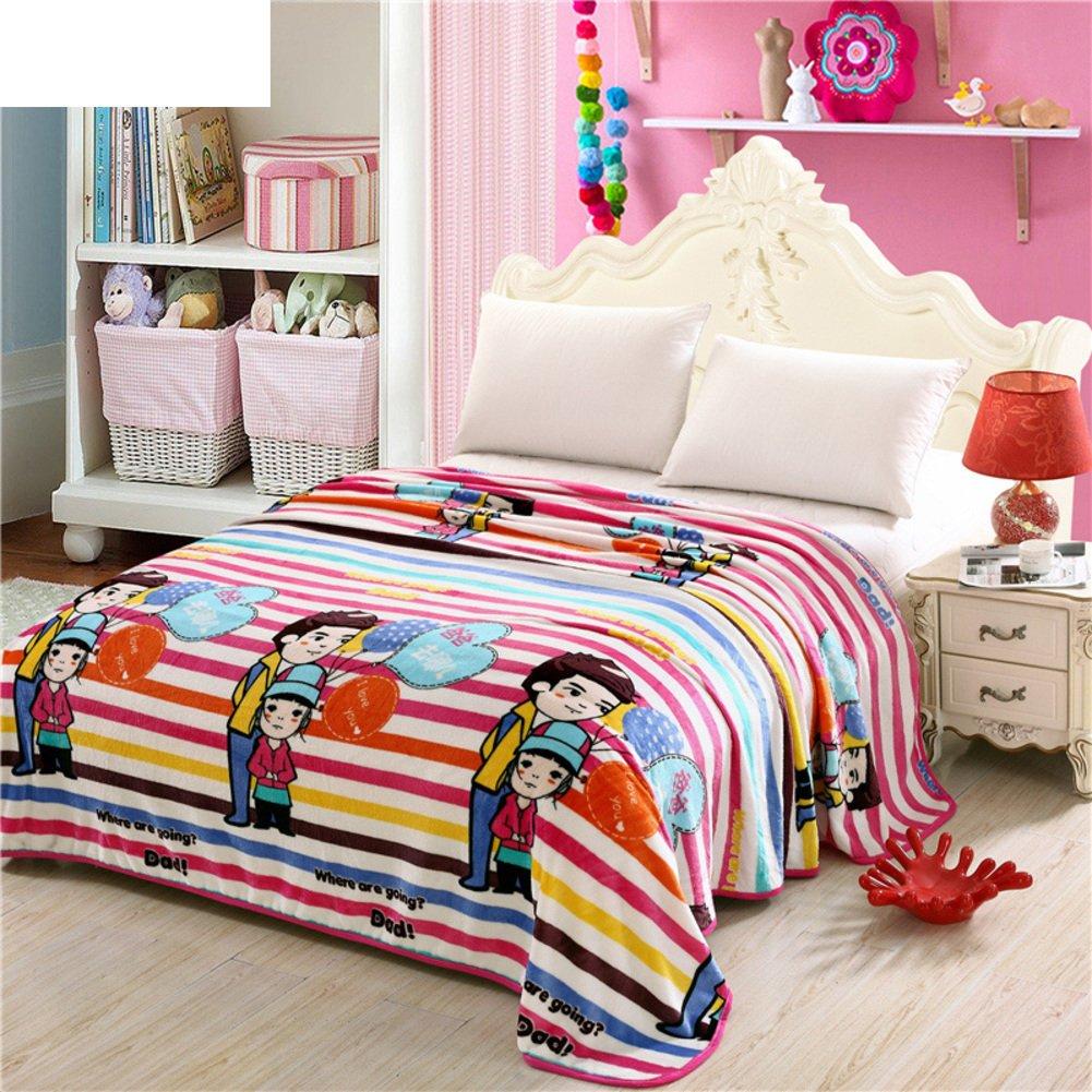Blanket/Thickened Coral Fleece Blanket/ Air Conditioner Blanket /Winter  Blankets/ Flannel Blanket