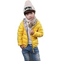 vlunt Niños chaqueta de plumón abrigo ligero duenn plumas Joven maedchen Down Jacket – Chaqueta de invierno con capucha