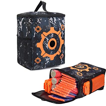 Tarway Target Pouch Kids Bullets Storage Camouflage Bag Soft Darts Target  Pouch Bullets Carry Equipment Bag a81afd86b