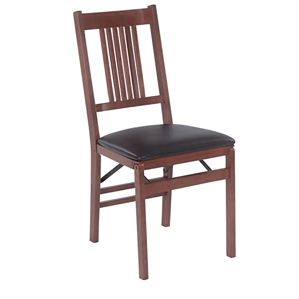 Stakmore True Mission Folding Chair Finish, Set of 2, Fruitwood