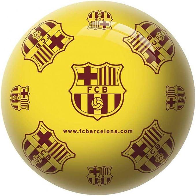 Pelota FC Barcelona escudo soft: Amazon.es: Juguetes y juegos