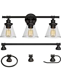 Vanity Lighting Fixtures Amazon Com Kitchen Amp Bath