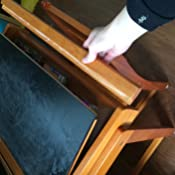 Amazon.com: Juego de escritorio con pizarrón y silla ...