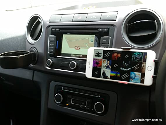 VW Amarok Accessories - Phone Holder - Suits All Phones (Blue)