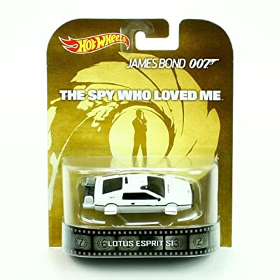 Hot wheels James Bond 007 Lotus Esprit S1 Rare boat car retro entertainment the spy who loved me: Toys & Games
