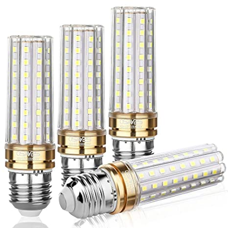 Bombillas LED E27 10W Equivalente 100W Halógena,Blanco Frío 6000K LED Maíz Lámpara, 800