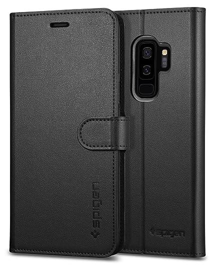 9502bd9dfb Amazon.com  Spigen Wallet S Galaxy S9 Plus Case with Foldable ...