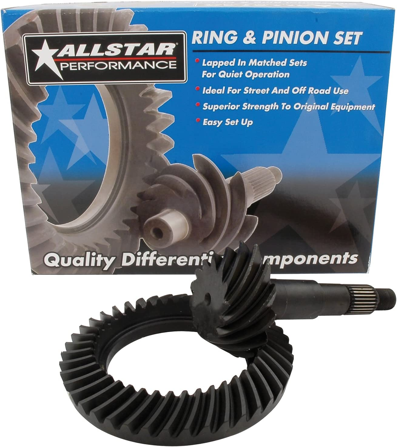 Allstar Performance ALL70116 7.5 4.10 Ring and Pinion Gear Set for GM