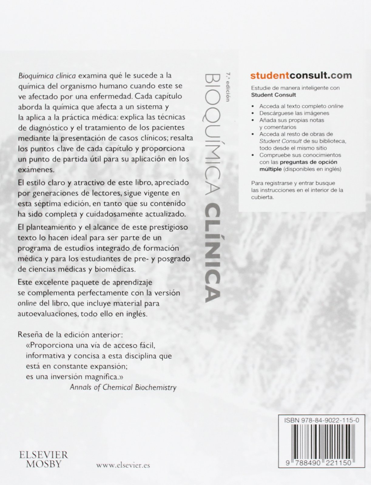 Bioquimica clinica + StudentConsult (Spanish Edition): William J ...