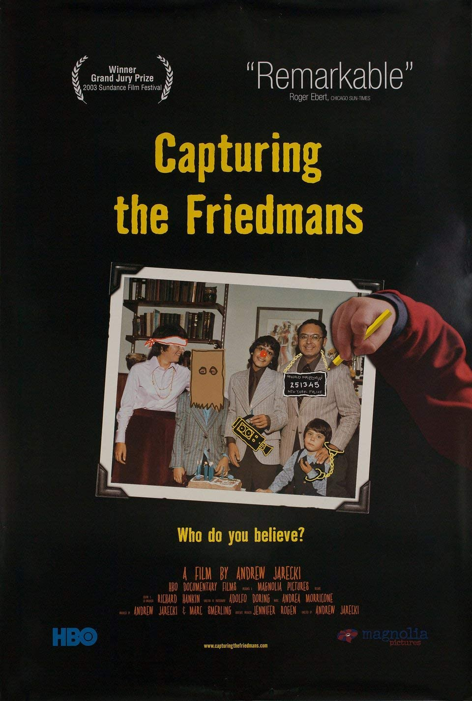 Capturing the Friedmans 2003 U.S. One Sheet Poster at Amazon's  Entertainment Collectibles Store