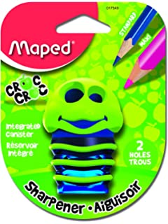 maped mpd 017549 croc 2 hole sharpener - Crayola Write Start Colored Pencils