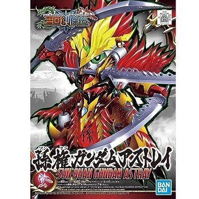 Sun Quan Gundam Astray: SD Sangoku Soketsuden x Bandai SD Model Kit (SDSS #011/57714): Toys & Games