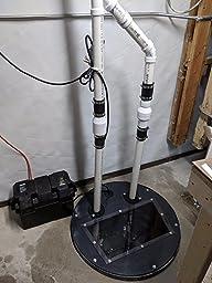 Wayne Esp25 12 Volt Battery Back Up Sump Pump System With