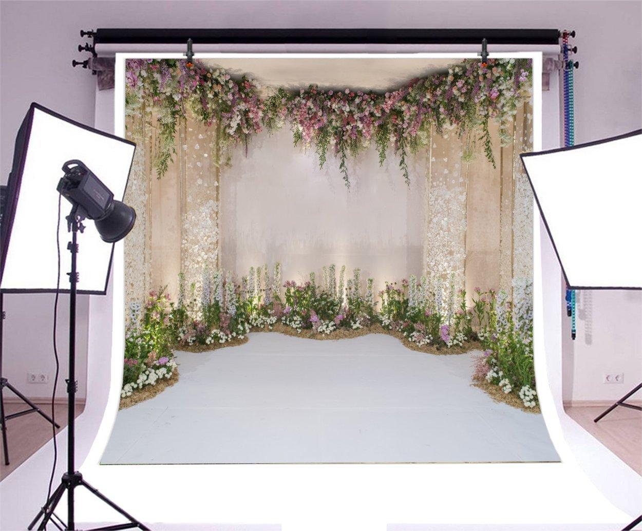 Amazon.com : AOFOTO 10x10ft Arch for Wedding Ceremony Backdrop ...