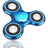 Oriental eLife® Fidget Spinner, Tri-Spinner EDC Focus Toy Hand spinner - Stress Relievers for ADD, ADHD Relieves Stress, Autism And Anxiety And Relax for Children and Adults (Alloy, 2#)