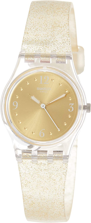 Swatch Reloj Analógico para Mujer de Cuarzo con Correa en Silicona LK382