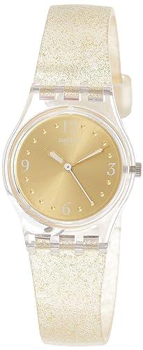 Swatch Reloj Analógico para Mujer de Cuarzo con Correa en Silicona LK382: Amazon.es: Relojes