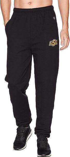6b5b6b09eeb9e Champion College Men s Oklahoma State Cowboys Eco Powerblend Banded Pants  Black Small 31